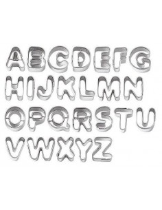 Cortadores metálicos letras
