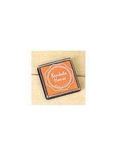 Tinta naranja para sellos