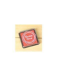 Tinta roja para sellos