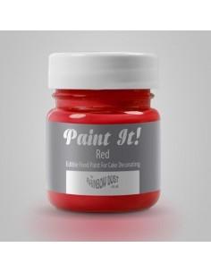 RD Paint It! Pintura Comestible Roja