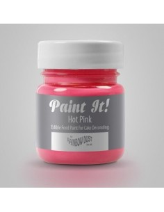 RD Paint It! Pintura Comestible Rosa Cálido
