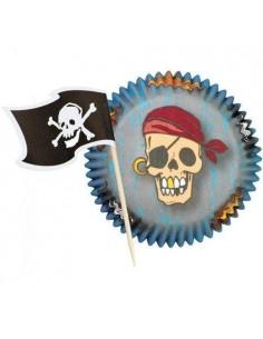 Cápsulas Cupcake Combo Pack Pirata Wilton