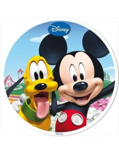 Oblea Mickey Mouse y Minnie