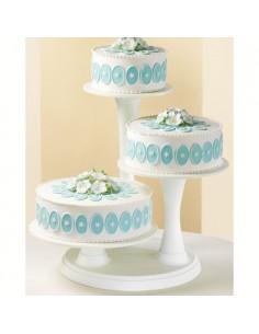 Soporte tartas 3 pisos
