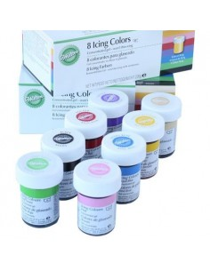 Wilton Kit 8 Colorantes