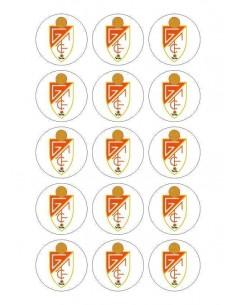 Papel de azúcar escudo Granada para galletas Nº71