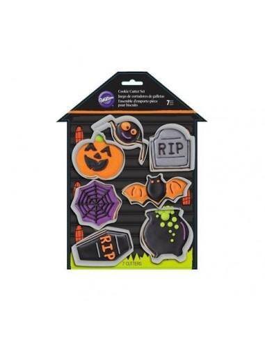 Set 7 cortadores casa embrujada Halloween