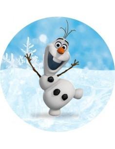 Papel de azúcar Olaf