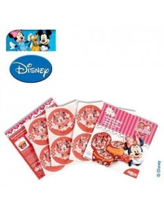 Obleas para galletas Minnie Mouse