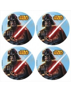 Obleas Star Wars para galletas
