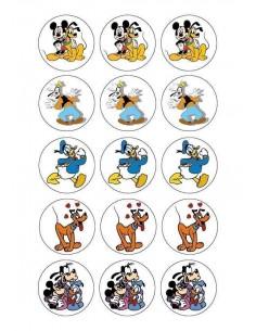 Papel de azúcar personajes Disney para galletas