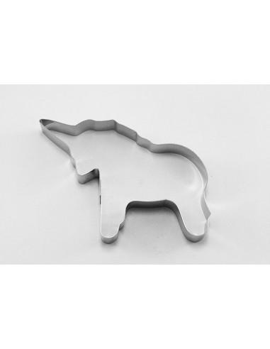 Cortador con forma de unicornio