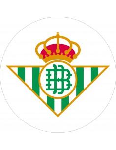 Papel de azúcar escudo Real Betis