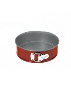 Molde redondo desmontable de acero inoxidable 26 cm