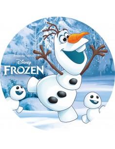 Papel de azúcar Frozen