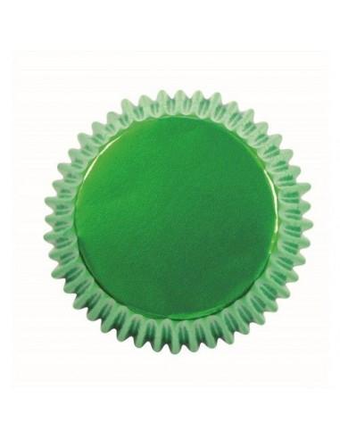 Cápsulas verdes metalizadas