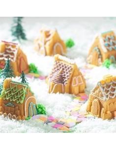 Molde poblado navideño Nordic Ware