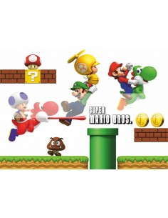 Papel de azúcar Super Mario