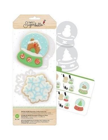 Cortadores bola y copo de nieve Sugarbelle