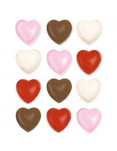 Molde bombones corazon