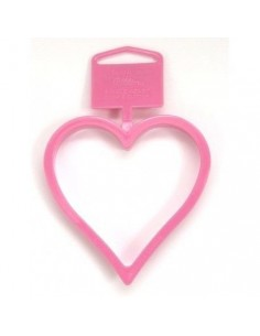 Cortador corazón plástico