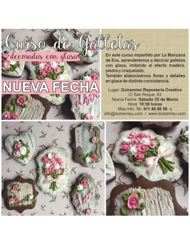 Curso de galletas decoradas con glasa