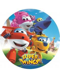 Papel de azúcar Super Wings