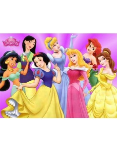 Papel de azúcar Princesas