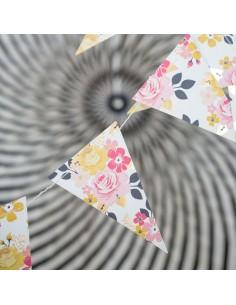 Banderines florales
