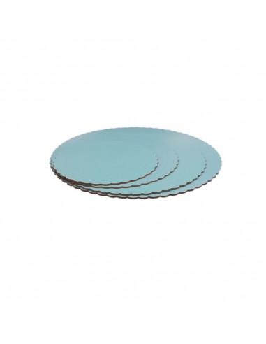 Base Tarta fina azul 30 cm