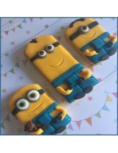 Taller decoración de galletas minions