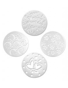 Set 4 Stencils de 26 cm