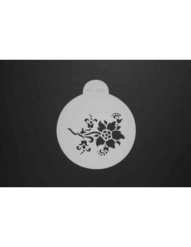 Stencil flor