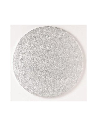 Base Tarta Redonda Plata 35cm x 1cm