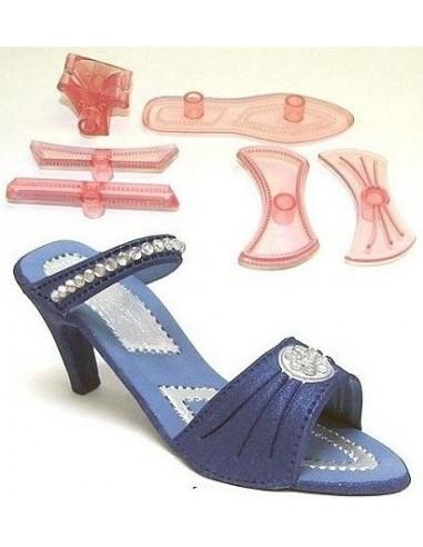 Set 7 piezas zapato mujer