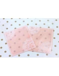 Pack de 25 bolsas Promesa rosa