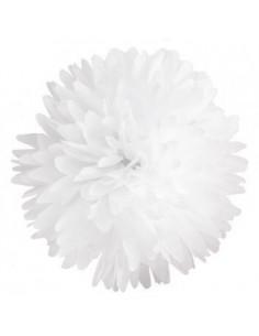 Flor de papel para decorar blanca