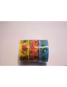 Pack 3 washi tape primaverales