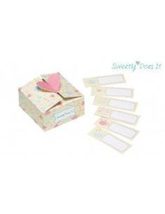 Pack 6 cajas + 6 etiquetas Sweetly does it
