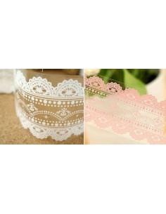 Washi tape ancho 4,8 cm color rosa mod. J