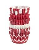 Wilton Mini Capsulas para Hornear Bastón de Caramelo, 150u