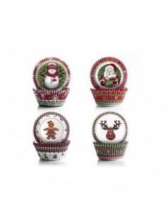Set 4 modelos capsulas navideñas Ibili