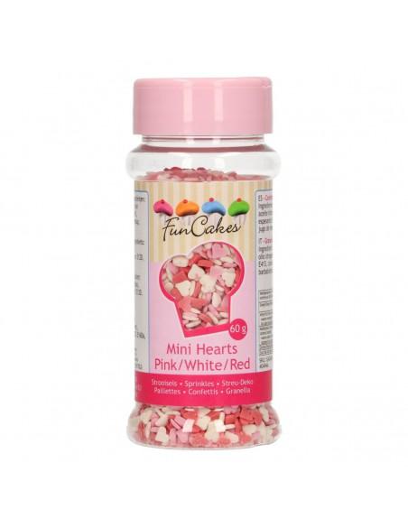 Mini Corazones de azúcar