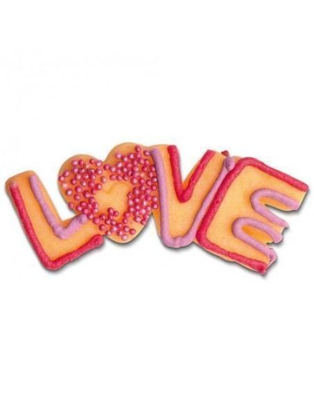 Cortador Galletas Love