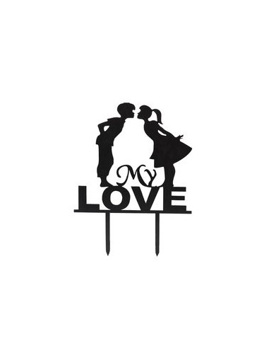 Topper pareja my love