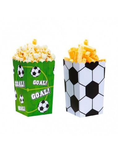 Cubos para palomitas fútbol