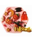 Molde silicona Halloween Truco o Trato