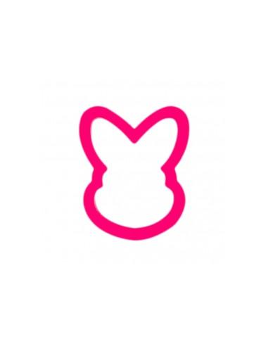 Cortador cabeza de conejo de plástico