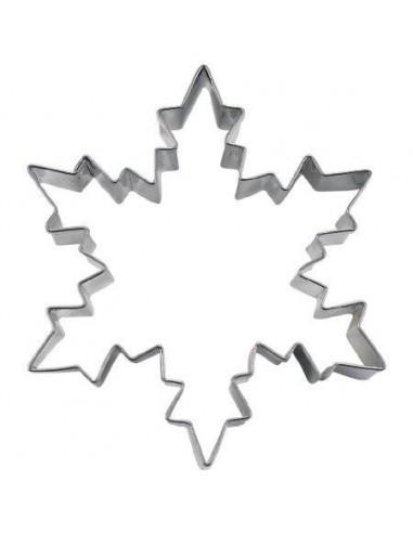 Cortador Metálico Copo Nieve Pequeño