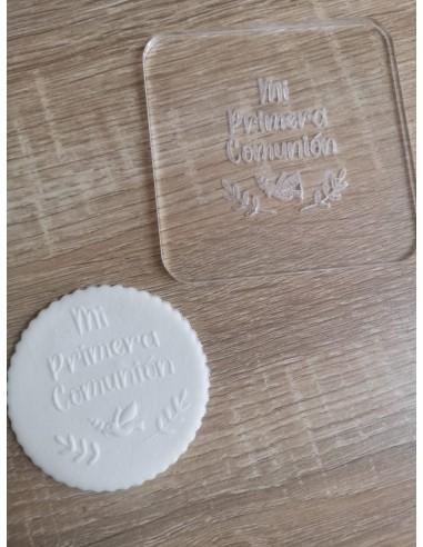 Sello para galletas Mi Primera Comunión